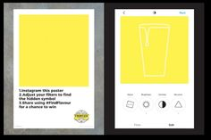 Fuller's lager brand created a series of advertisements that can only be revealed using Instagram filters.
