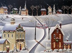 Down Home Christmas Painting by Catherine Holman - Down Home Christmas Fine Art Prints and Posters for Sale