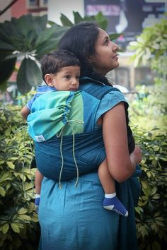 Peace on Blue - Cotton Soul Meh Dai   #soulslings #soulmehdai #babywearing #toddlerworthy #cottonsoulmehdai