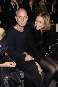 Justin Portman and Natalia Vodianova at YSL S07