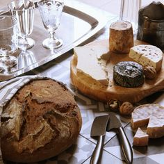Still life with cheese by Bertrand Benoit
