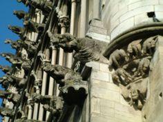 Gargoyles at Eglise de Notre Dame - Dijon, France www.pont-roche.comwww.latourdelabergement.com