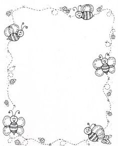 Borders DJ Inkers_Carson y negro - Laura Zamora - Picasa Web Albums Borders For Paper, Borders And Frames, Colouring Pages, Coloring Books, Dj Inkers, School Frame, Carson Dellosa, Page Borders, Clip Art