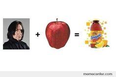 snape + apple = ?