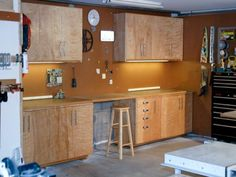Wooden Building Garage Cabinets Plans DIY Blueprints Home Make A Sliding Door Or Shop Cabinet I Needed To Build