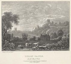 Dudley Castle South East View mid 19th century