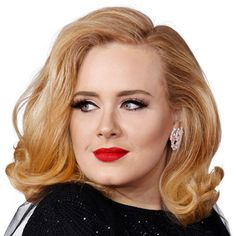 Anything by Adele. This is an article about Adele nicely written by Pink. Retro Hairstyles, Hairstyles For Round Faces, Wig Hairstyles, Layered Hairstyles, Celebrity Hairstyles, Make Up Looks, Best Makeup Tutorials, Best Makeup Products, Makeup Tips