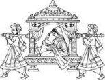 Drawing hand line Ideas for 2019 Wedding Symbols, Hindu Wedding Cards, Wedding Motifs, Wedding Card Design, Wedding Designs, Drawing Hand, Drawing Drawing, Drawing Ideas, Wedding Drawing