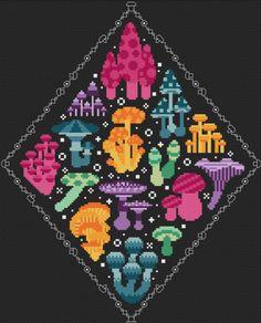 Cross Stitch Art, Cross Stitching, Cross Stitch Embroidery, Cross Stitch Patterns, Pixel Pattern, Pattern Blocks, Pattern Art, Pdf Patterns, Beading Patterns