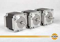 Go to http://discounted-3d-printer-store.co.uk/act-gmbh-3pcs-4-lead-nema23stepper-motor-23hs6620b-20a-56mm-90g-cm  to review Act GmbH 3pcs 4-lead Nema23Stepper Motor 23HS6620B 2.0A 56mm 90g. cm 6Lines Automation Equipment