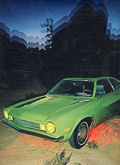 ford pinto.  My oldest sister had one of these. - Ha, that would be me! Mine was red.