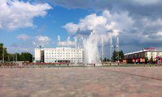 Центральная площадь , город Ижевск, Удмуртия
