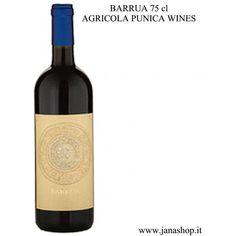 Vino Rosso Isola dei Nuraghi IGT, BARRUA, 75 cl, 14.5° Alc., Sardinia