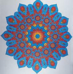 Mandala kirjasta: Väritä itsellesi mielenrauhaa Beach Mat, Mandala, Outdoor Blanket, Mandalas