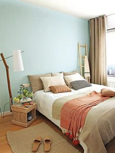How to choose curtains for a bedroom? - Home Fashion Trend Bedroom Wall Colors, Bedroom Green, Home Bedroom, Bedroom Decor, Bedroom Ideas For Small Rooms Diy, Pink Bedrooms, Bedroom Styles, Luxurious Bedrooms, Interior Design