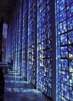 Dom Bosco chapel in Brasilia, Brazil