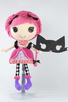 LALALOOPSY Confetti Carnivale Amigurumi Doll by Npantz22.deviantart.com on @deviantART