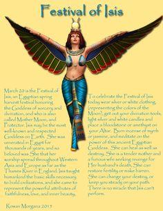 Festival of Isis Egyptian Isis, Egyptian Mythology, Egyptian Symbols, Goddess Isis Tattoo, Isis Goddess, Daughters Of Isis, Tarot, Greek Gods And Goddesses, Egypt Art
