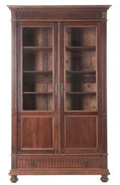 French 19th Century Walnut Bibliotheque