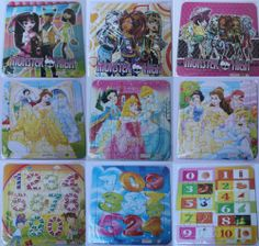 £1.49 16 Pcs New Kids Puzzle Cute Jigsaw Puzzle Kids Toy Girls Pink Princess Puzzle | eBay