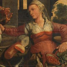 Kitchen Scene, Pieter Aertsen, 1560 - 1565 - Rijksmuseum