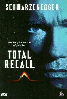 "Total Recall (1990) ~ ""When a man goes for virtual vacation memories of the planet Mars, an unexpected and harrowing series of events forces him to go to the planet for real, or does he?"""