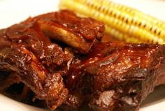 Slow Cooker BEST EVER BBQ Ribs
