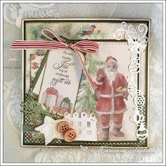 Nå blir det god gammeldags jul med Pion Design. Har du ikke funnet inspirasjon til julekortene ennå, så er det bare å glede seg til Christ...
