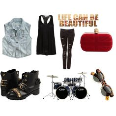 """Fashion Rock Star"" by yamyiy on Polyvore"