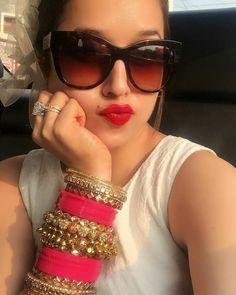 silver bracelets and charms Indian Wedding Gowns, Indian Wedding Jewelry, Indian Bridal Wear, Wedding Chura, Indian Weddings, Wedding Wear, Indian Jewelry, Silk Bangles, Bridal Bangles