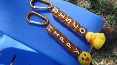 Disco Duck and Hippie Chick Key Chain Craft Kits - These kits make sturdy key chains, back pack clips, or purse accessories. Both styles take you back to a time of music, dance, and fun! Just select your style and decide whether you want craft kits or completed key chains. The kits are perfect for a birthday party, girl scout troop meeting, sleepover, classroom crafting activity, stocking stuffers, present toppers, or Easter basket and egg fillers.