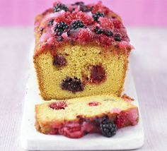 Summer fruit drizzle cake- i think the pic makes it look a little dry but im more than willing to give it a go