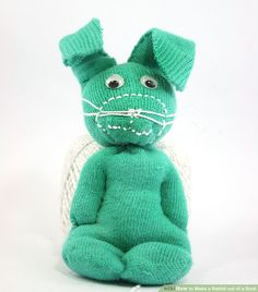 How to Make a Rabbit out of a Sock: 9 Steps (with Pictures)