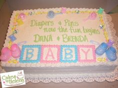http://cakesbyhelena.com/CBH%20Specialty%20Cakes/images/1_2_sheet_baby_shower_cake.jpg