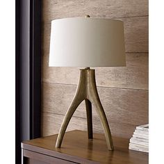 Crate and Barrel Cleo Lamp