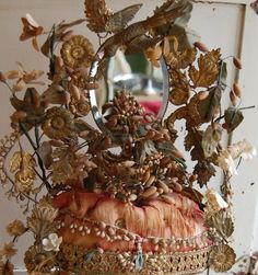 Antique French Wedding crown