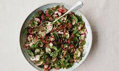 Anna Jones's radish, sumac and fresh herb salad.