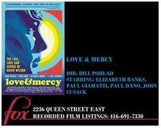 Brian Wilson, Elizabeth Banks, Fleas, Schedule, Theater, Tuesday, Fox, Watch, Friends