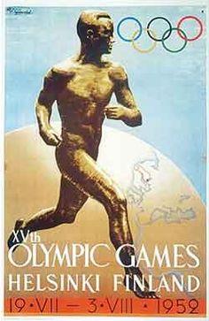 Percepções de arte: Pôster # 001 - Jogos Olímpicos