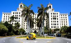 Hotel Nacional, Havana. I had a drink in the Hotel Nacional bar and could almost see the gangsters and Hollywood celebs of the 50's in there before the Revolution.