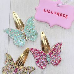 I really love these 3 glitters Handmade Hair Bows, Diy Hair Bows, Diy Bow, Diy Ribbon, Bow Hair Clips, Felt Hair Accessories, Bow Template, Bow Pattern, Baby Girl Bows