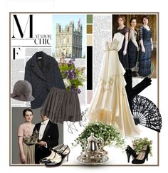 """""""Downton Abbey"""" by jimmychoo4 ❤ liked on Polyvore"""