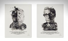 Film Director Portraits by Julian Rentzsch. This is absolutely incredible.