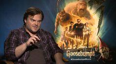 Jack Black talks about Goosebumps