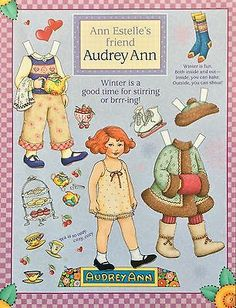 Mary Engelbreit Mag. Paper Doll, Audrey Ann, Jan./Feb., 2001