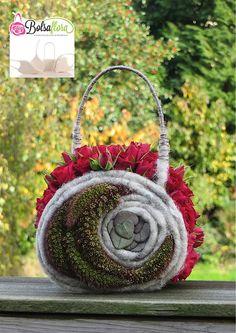 Bolsa Flora botanical purse