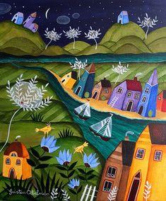 Village of Dreams by Justin Abelman