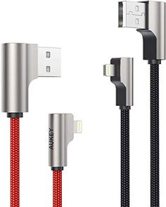 #AUKEY Right Angle Lightning Cable for #iPhone