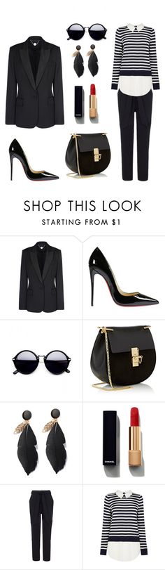 """Untitled #5"" by selma-dautovic ❤ liked on Polyvore featuring STELLA McCARTNEY, Christian Louboutin, Chloé and Chanel"