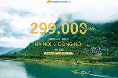 Vé máy bay Hà Nội Quảng Bình giá rẻ